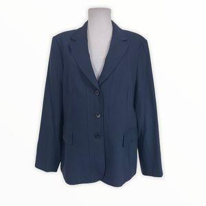 Talbots Suit Blazer Jacket Wool Lined L/S Stretch